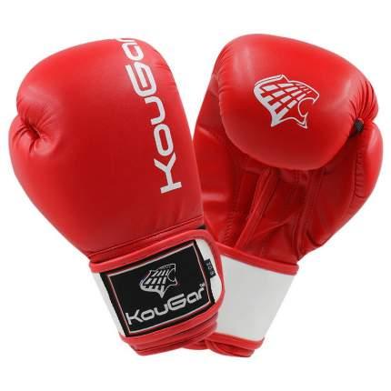 Боксерские перчатки Kougar KO200 красные 14 унций