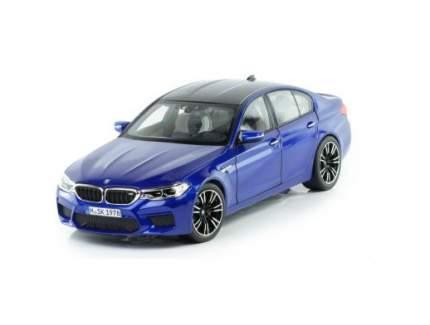 Модель автомобиля BMW M5 (F90), Marina Bay Blue, 1:18 Scale
