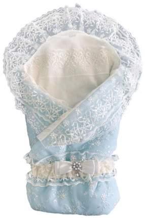 Конверт-одеяло кружевной на выписку + уголок с кружевом+пояс на резинке, 300гр