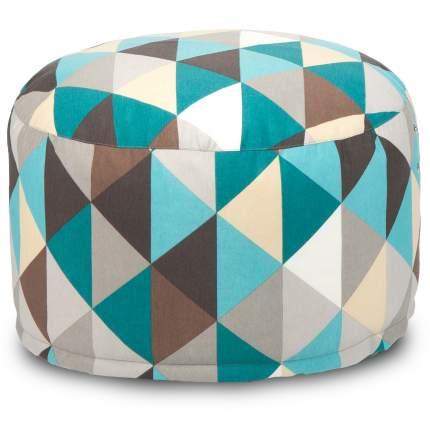 Кресло-мешок ПуффБери Ромб, размер XS, жаккард, разноцветный