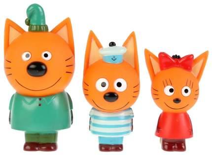 Набор из 3-х игрушек для ванны Капитошка Три кота