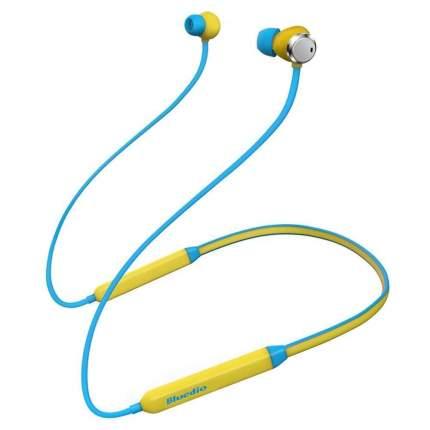 Наушники Bluedio T Energy Blue/Yellow