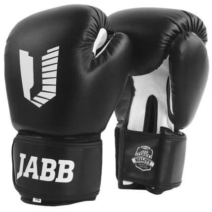 Боксерские перчатки Jabb JE-4068 черные 10 унций