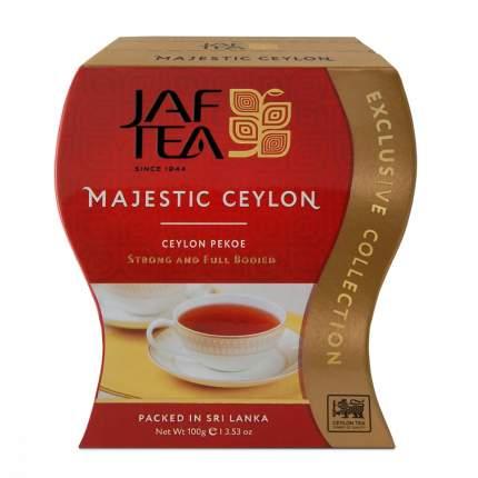 Чай Jaf Tea Majestic Ceylon черный листовой 100 г