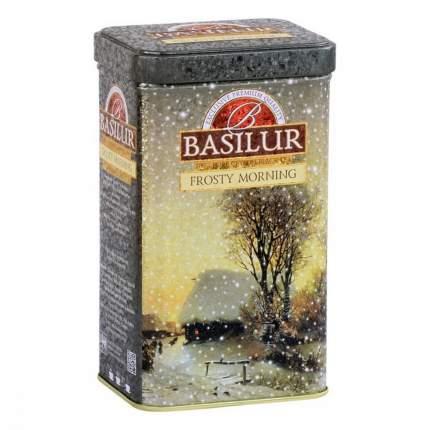 Чай Basilur Праздничная коллекция - Морозное утро черный листовой 85 г