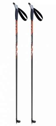 Лыжные палки 100% стекловолокно, рост 115 stc ACTIVE, красный