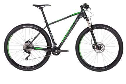 """Велосипед Kellys Gate 30 2019 17"""" черный/зеленый"""