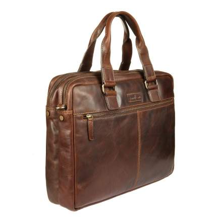 Сумка мужская Gianni Conti 1221265 dark brown