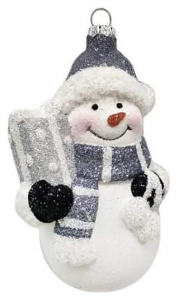 Елочная игрушка Новогодняя сказка Снеговик 12 см
