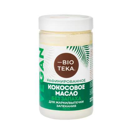 Масло кокосовое Bioteka рафинированное без запаха 750 мл