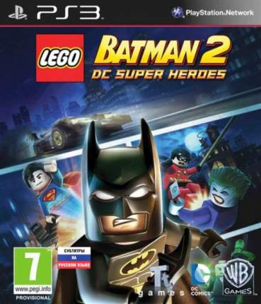 Игра LEGO Batman 2: DC Super Heroes для PlayStation 3