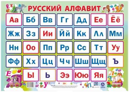 """Учебный плакат """"Русский алфавит"""": Формат А2"""