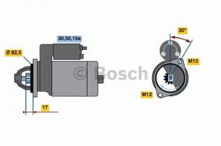Стартер Bosch 0986016330