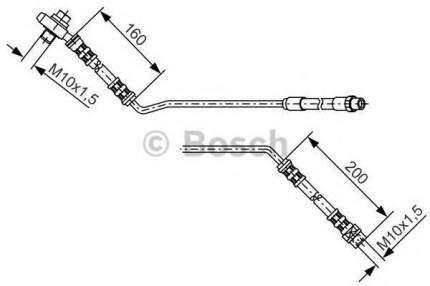 Шланг тормозной системы Bosch 1987476055