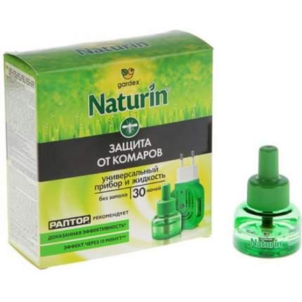Комплект Naturin прибор универсальный и жидкость от комаров без запаха 30 ночей