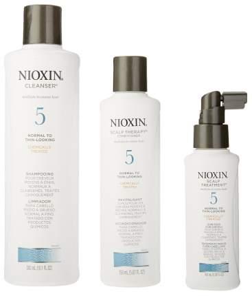Набор средств для волос Nioxin System 5 Kit 300 мл+300 мл+100 мл