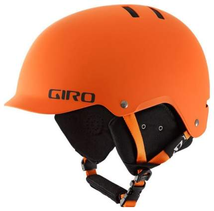 Горнолыжный шлем мужской Giro Surface S 2018, оранжевый, S