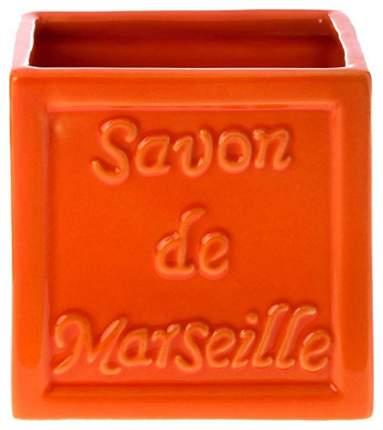 Стакан для зубных щеток Savon De Marseille Красный