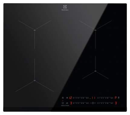Встраиваемая варочная панель индукционная Electrolux IPE6452KF Black
