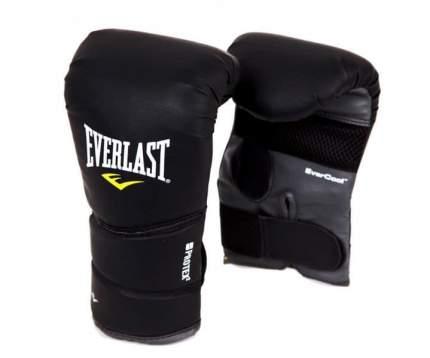 Боксерские перчатки Everlast Protex 2 Heavy Bag Gloves черные 12 унций S/M