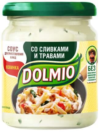 Соус на основе растительных масел Dolmio для приготовления блюд со сливками и травами
