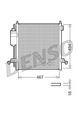 Радиатор кондиционера Denso DCN45001