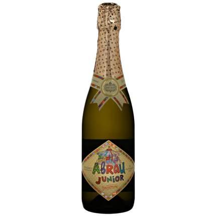 Детское шампанское Абрау Дюрсо золотое junior стекло 0.75 л