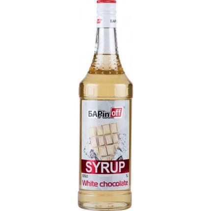 Сироп Barinoff белый шоколад 1 л