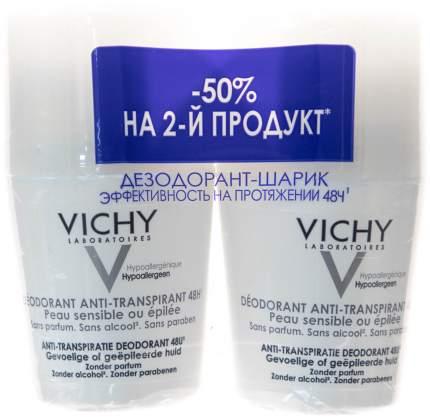 Дезодорант Vichy Для чувствительной кожи 50 мл 2 шт