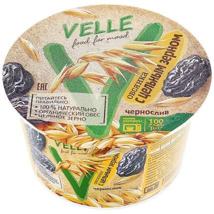Каша Velle овсянка с цельным зерном и черносливом 180 г