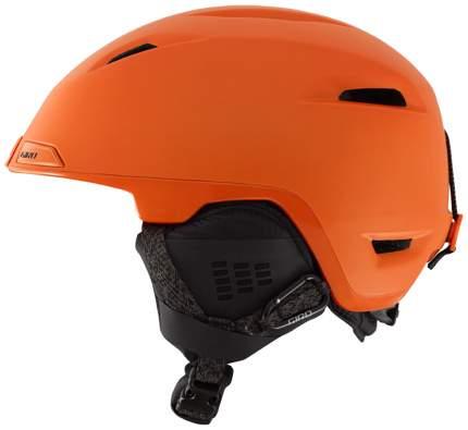 Горнолыжный шлем мужской Giro Edit 2016, оранжевый, L