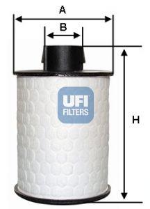 Фильтр топливный UFI 60.H2O.00