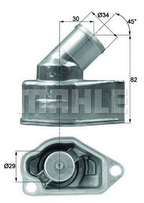 Термоcтат Mahle/Knecht TI992