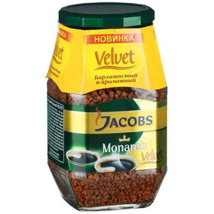 Кофе растворимый Jacobs monarch velvet 95 г