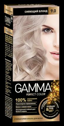 Краска для волос SVOBODA SVOBODA GAMMA Perfect color сияющий блонд 9,0, 50гр