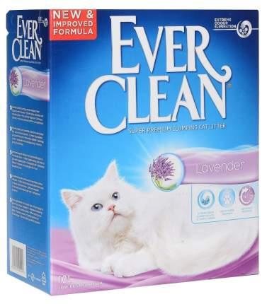Комкующийся наполнитель для кошек Ever Clean Lavender бентонитовый, лаванда, 10 кг, 10 л