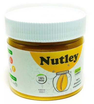 Паста арахисовая  Nutley классическая  300 г