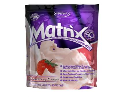 Протеин Syntrax Matrix 5.0, 2270 г, strawberry cream