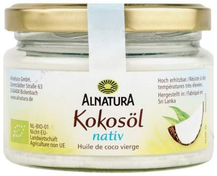 Масло кокосовое Alnatura нерафинированное 220 мл