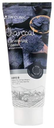 Пенка для умывания 3W Clinic Charcoal Foam Cleansing 100 мл