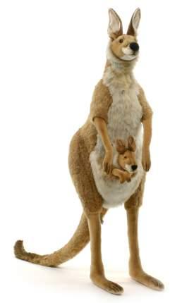 Мягкая игрушка Кенгуру с детенышем 110 см
