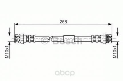 Шланг тормозной системы Bosch 1987481369