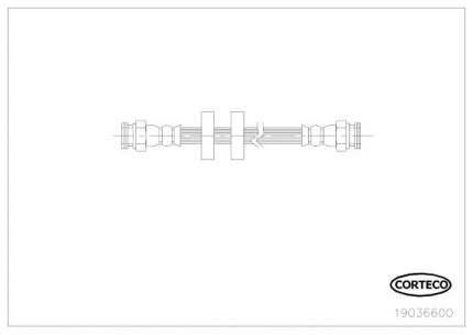 Шланг тормозной CORTECO 19036600
