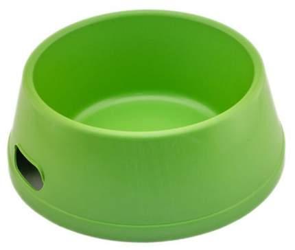 Одинарная миска для собак Дарэлл, пластик, зеленый, 2.6 л