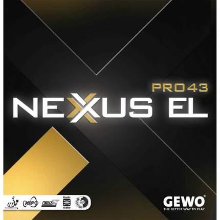 Накладка для ракетки Andro Nexxus EL Pro 43 черная max