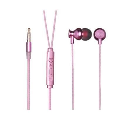 Наушники Ubik UE 04M Pink