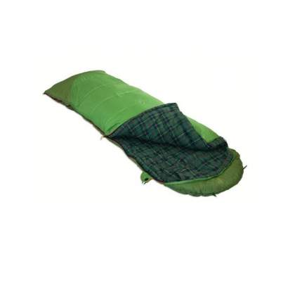 Спальный мешок Alexika Siberia Plus зеленый левый