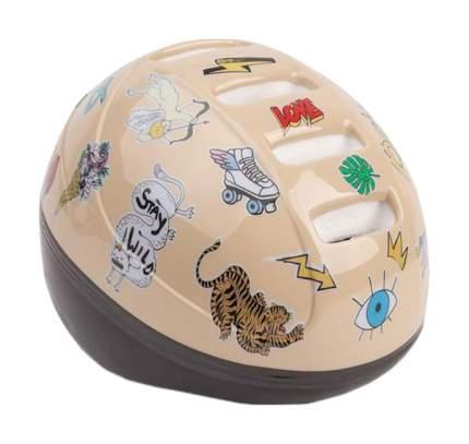 Шлем защитный детский Happy Baby Stonehead Beige