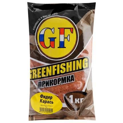 Прикормка летняя Green Fishing  Фидер Карась 1 кг