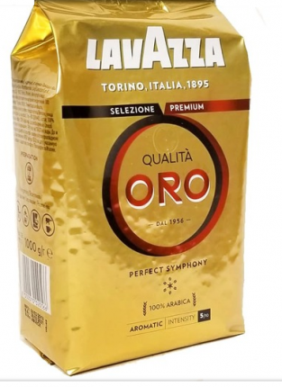 Кофе в зернах Lavazza qualita oro 1000 г